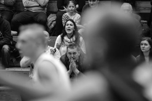 24.01.2016 Czestochowa , Hala Polonia ul. Dekabrystow . 2 liga koszykowki mecz AZS Politechnika Czestochowa - MCKiS Jaworzno . fot . Lukasz Kolewinski / Agencja Gazeta
