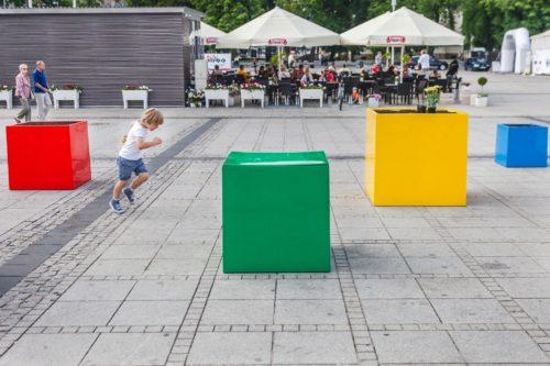 Ogród publiczny na placu Biegańskiego
